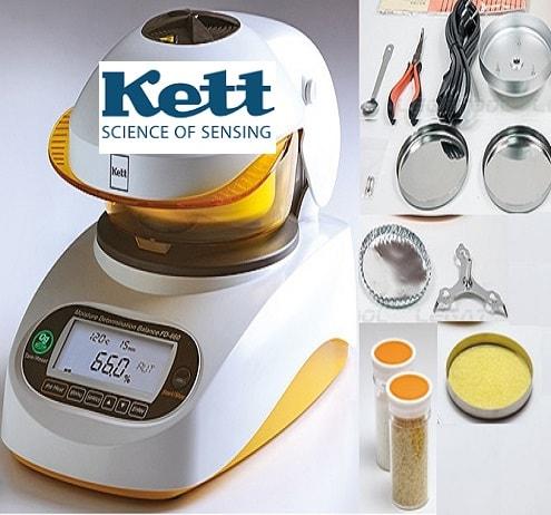 Phụ kiện cân đo độ ẩm kett